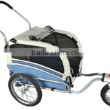 Dual Function Pet Dog/ Baby Trailer & Stroller-Medium