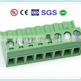 7.62mm Pitch Plug in Terminal Block XS2ESDV 300V 15A with UL, CE, ROHS, ISO, SGS,CQC Approved