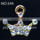 Jewelry diy accessories rhinestone button alloy rhinestone metal ornaments diy accessories -545