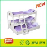 Trundle Doll Bunk Beds with Ladder