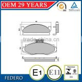 OE 8129665 D91 front brake pads for ford Jeep