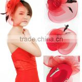 MYLOVE hat with veil bridal fascinators yiwu hat wholesale MLXM026