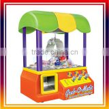 ORANGE Candy Grabber Carnival Style Arcade Claw Prize Machine blue cute toy