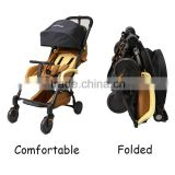 New Arrival new design cheap worthy portable convertible folding system baby stroller infant pram carrier