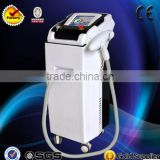 Beauty equipment q switched nd yag laser for tattoo removal birthmark removal pigmentation treatment dark face lifting