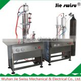 Semi-automaitc aerosol can oxygen mask filling machine