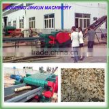 8-12T/h China industrial forestry wood chopper chipper shredder mulcher for sale
