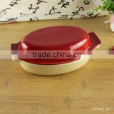 Hospitality hotel supply china manufacture ceramic bakeware set