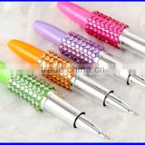 Gift Stationery lipstick point pen with diamond