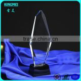 New arrival unique elegant clear crystal award,blank teardrop clear crystal award trophy