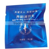 OEM clean point with your own brand and logo,blue sachets 100% Herbal Tampon Clean Point