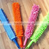 long hand microfiber flexible corner duster