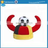 Carnival Party Football Fan Flag Viking Hats for Adults
