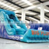 AOQI hard-wearing quality giant interesting inflatable water slide commercial used inflatable water slide for sale