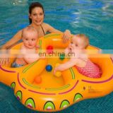 Inflatable Double Baby Swimming Float