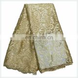 pure corlor high quality soft dress lace fabric african party fashion french lace cloth material BD15082502