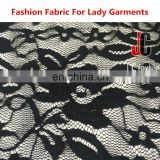 2016Hot sale elegant spandex nylon lace fabric for lace dress fabric