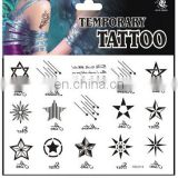 Have stocks Hot sale body temporary tattoo