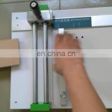 Low Price Table Top Corrugated Carton Box Sample Cutting Equipment
