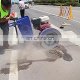Walk behind concrete saw Wholesale road cutter saw road cutting saw machine road concrete cutter
