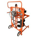 The portable and light weight  hand-push digging machine for sale