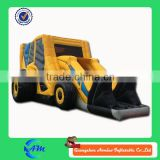 inflatable bulldozer inflatable digger shape inflatable bouncer for sale with low price                                                                         Quality Choice