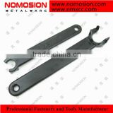 High quality Carbon steel open end ER Spanner for CNC Milling machine tool holder/ER spanner