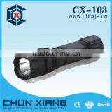 High power aluminium CREE LED flshlight