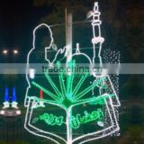 Street LED motif ramadan lights for ramadan decoration