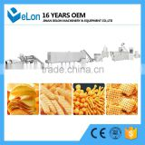 Stainless steel puff snack extruder processing machine china