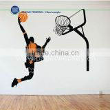 Slam Dunk Basketball Player Removable Wall Art Stickers Vinyl Decals Decor DIY