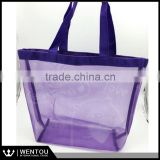 Wholesale Baby girl and boys shell bags kids beach mesh bags