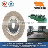 Aluminum Oxide buffing wheels for stainless steel
