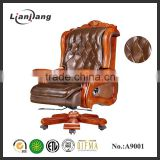 Genuine leather boss massage chair wholesale