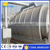 Used tire pyrolysis equipment Waste rubber processing oil machinery
