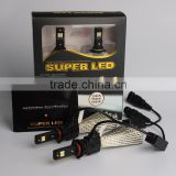 Super Brigh h1 h3 h7 h8 h9 h11 9005 9006 Headlight Kit LED Chip Car LED type DRL Driving Fog Light HID Car Light Source