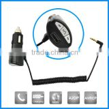 Wireless receiver box bluetooth car aux in adapter with 3.5mm jack, aux bluetooth receiver car
