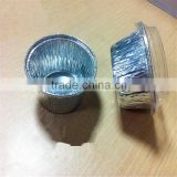 food grde Small Round aluminum foil pudding cup container