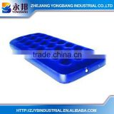 with China Supplier YONGBANG Mattresses YB-SR721 24 Coils Single Plastic Inflatable Flocked Air Bed