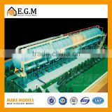 miniature sea water desalting plant industrial equipent display model