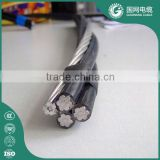 power transmission line aerial bundle cable/abc cable/abc wire overhead cable with ce ccc certificate