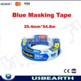 High quality !!! 3m blue tape for 3D Printer Platform Heat Resistant 25.4mm*54.8m, 3M2090 tape,high temperature tape