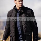 Mens Casual Premium Quilted Lightweight Zip up thick padded Jacket
