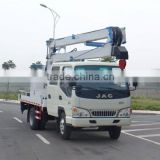 JAC crew cab 3 Knuckle arm 12-16 meter High-altitude Operation Truck aerial working platform