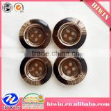 China factory 2014 New UV plating Plastic button