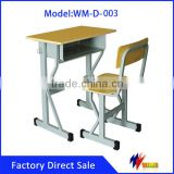 2016 School furniture metal design study table desk and chair for kids                                                                         Quality Choice