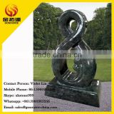 european style green color small funeral tombstone