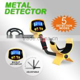 Metal Detector With Waterproof Search Coil Gold Digger Light Hunter Jewelry Deep