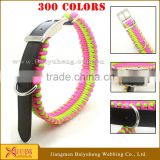 Christmas pet collar leash leather wholesale