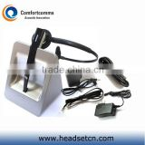 New design 2.4GHz noise cancelling call center make wireless headset with microphone CW-3000